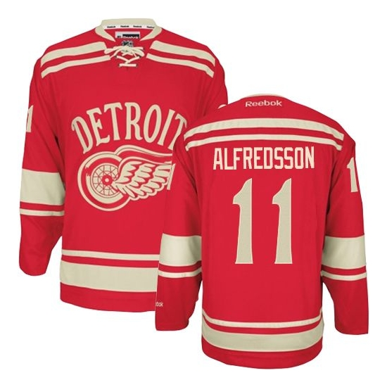 Daniel Alfredsson Detroit Red Wings Premier 2014 Winter Classic Reebok Jersey - Red