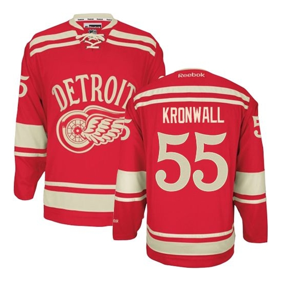 Niklas Kronwall Detroit Red Wings Authentic 2014 Winter Classic Reebok Jersey - Red
