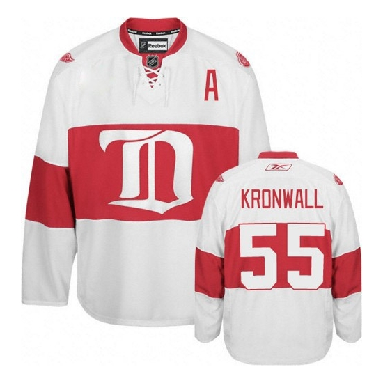 Niklas Kronwall Detroit Red Wings Authentic Third Reebok Jersey - White
