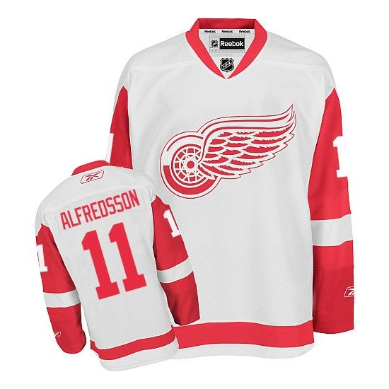 Daniel Alfredsson Detroit Red Wings Premier Away Reebok Jersey - White