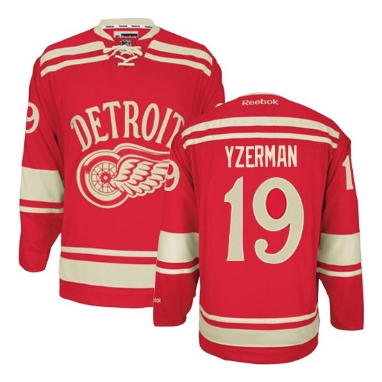 Steve Yzerman Detroit Red Wings Youth Authentic 2014 Winter Classic Reebok Jersey - Red