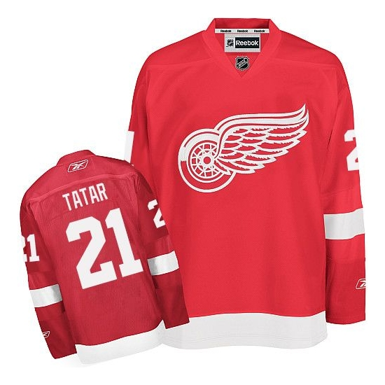 Tomas Tatar Detroit Red Wings Premier Home Reebok Jersey - Red