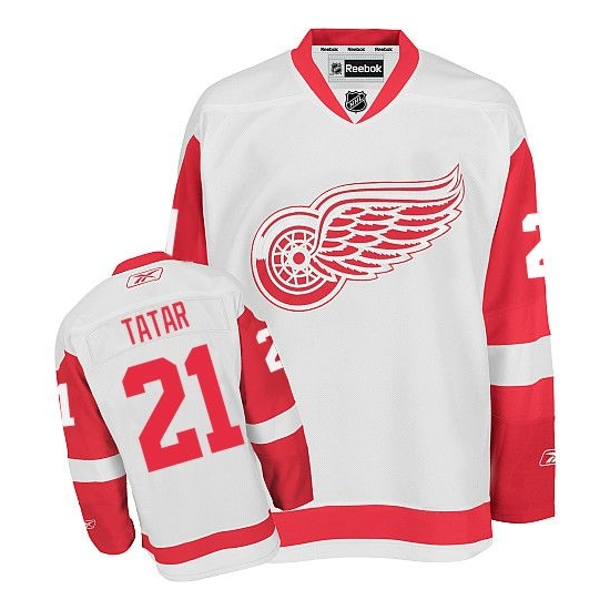 Tomas Tatar Detroit Red Wings Authentic Away Reebok Jersey - White