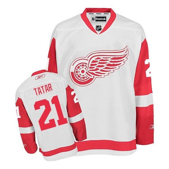 Tomas Tatar Detroit Red Wings Premier Away Reebok Jersey - White
