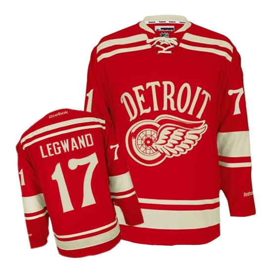 David Legwand Detroit Red Wings Authentic 2014 Winter Classic Reebok Jersey - Red