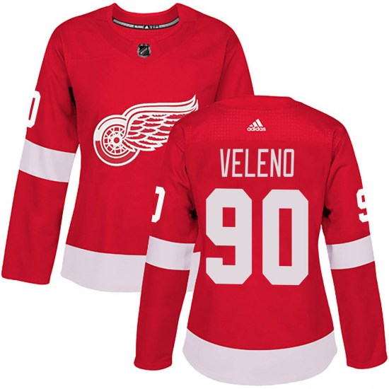 Joe Veleno Detroit Red Wings Women's Authentic Home Adidas Jersey - Red