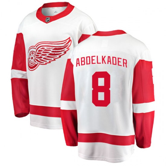 Justin Abdelkader Detroit Red Wings Breakaway Away Fanatics Branded Jersey  - White 1c662b340