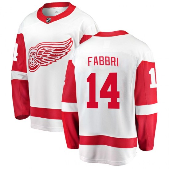 Robby Fabbri Detroit Red Wings Breakaway Away Fanatics Branded Jersey - White