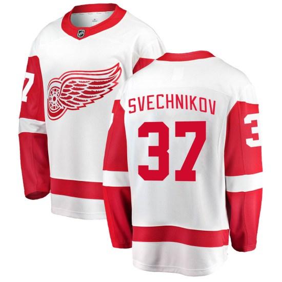 Evgeny Svechnikov Detroit Red Wings Breakaway Away Fanatics Branded Jersey - White