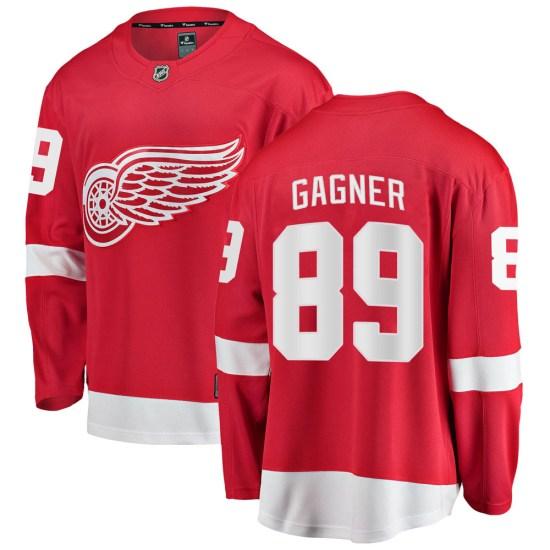 Sam Gagner Detroit Red Wings Breakaway ized Home Fanatics Branded Jersey - Red