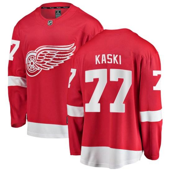 Oliwer Kaski Detroit Red Wings Breakaway Home Fanatics Branded Jersey - Red
