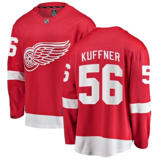 Ryan Kuffner Detroit Red Wings Breakaway Home Fanatics Branded Jersey - Red
