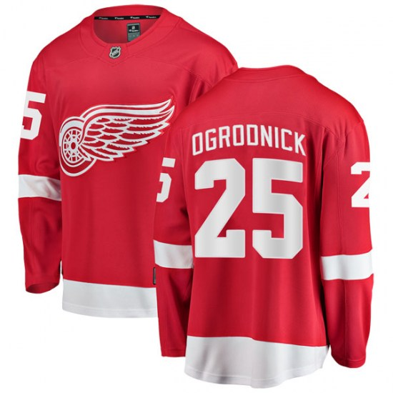 John Ogrodnick Detroit Red Wings Breakaway Home Fanatics Branded Jersey - Red
