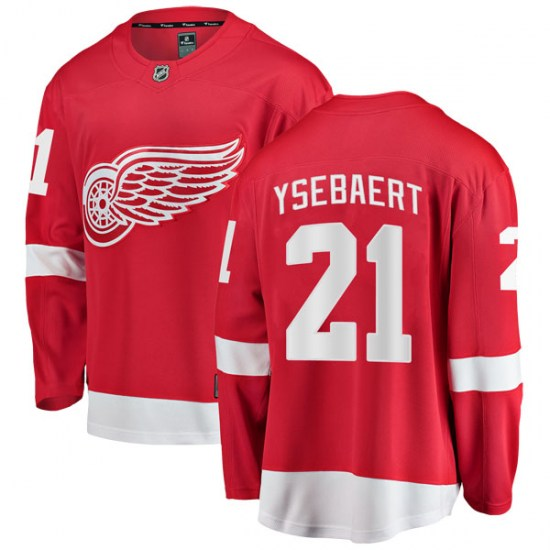 Paul Ysebaert Detroit Red Wings Breakaway Home Fanatics Branded Jersey - Red
