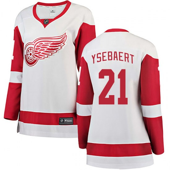 Paul Ysebaert Detroit Red Wings Women's Breakaway Away Fanatics Branded Jersey - White