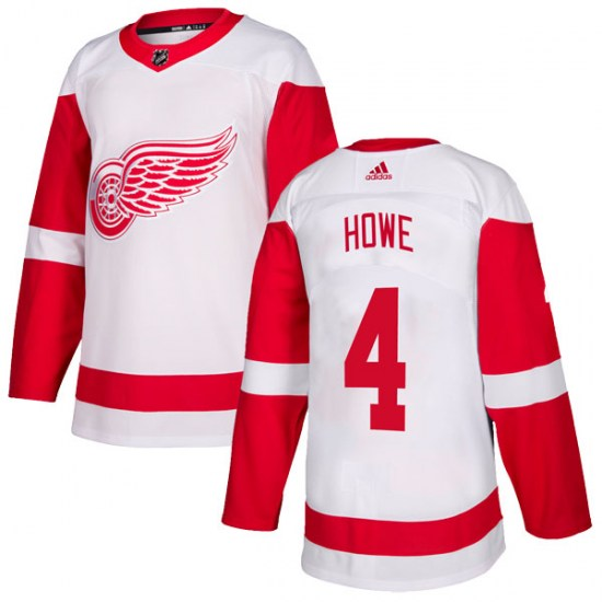 Mark Howe Detroit Red Wings Youth Authentic Adidas Jersey - White