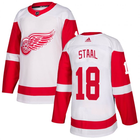 Marc Staal Detroit Red Wings Youth Authentic Adidas Jersey - White