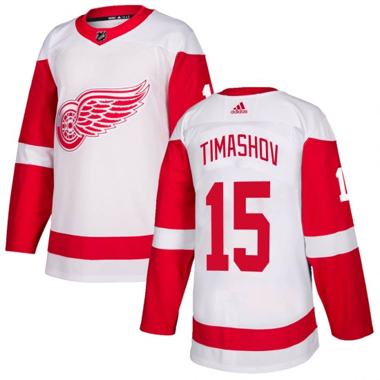 Dmytro Timashov Detroit Red Wings Youth Authentic ized Adidas Jersey - White