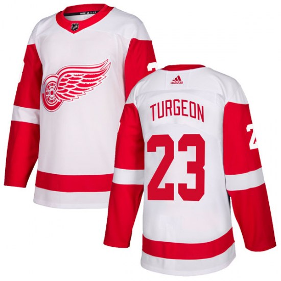 Dominic Turgeon Detroit Red Wings Youth Authentic Adidas Jersey - White