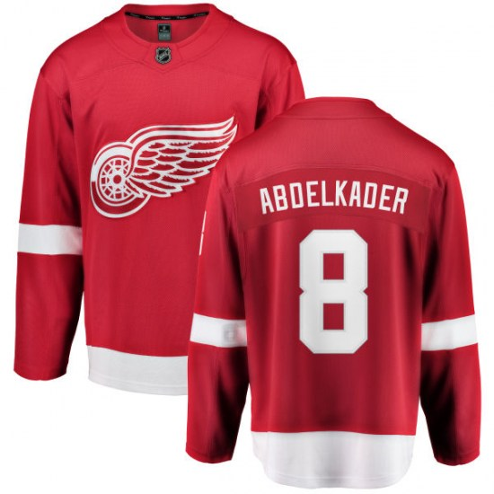 Justin Abdelkader Detroit Red Wings Youth Breakaway Home Fanatics Branded Jersey - Red