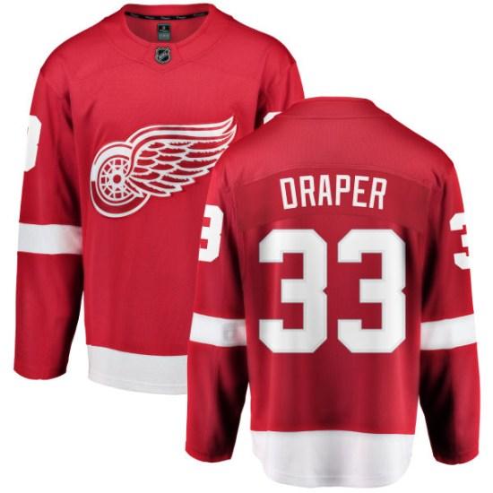 Kris Draper Detroit Red Wings Youth Breakaway Home Fanatics Branded Jersey - Red