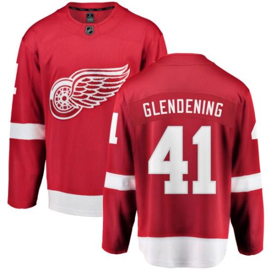 Luke Glendening Detroit Red Wings Youth Breakaway Home Fanatics Branded Jersey - Red