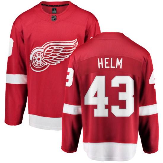 Darren Helm Detroit Red Wings Youth Breakaway Home Fanatics Branded Jersey - Red