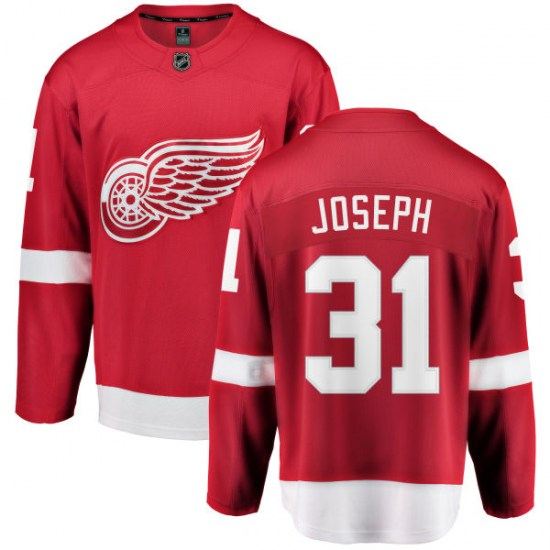 Curtis Joseph Detroit Red Wings Breakaway Home Fanatics Branded Jersey - Red