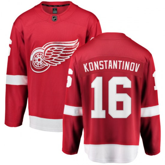Vladimir Konstantinov Detroit Red Wings Breakaway Home Fanatics Branded Jersey - Red