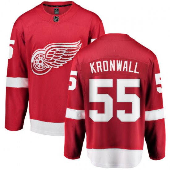 Niklas Kronwall Detroit Red Wings Youth Breakaway Home Fanatics Branded Jersey - Red