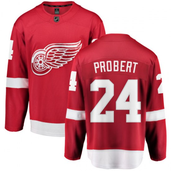 Bob Probert Detroit Red Wings Breakaway Home Fanatics Branded Jersey - Red