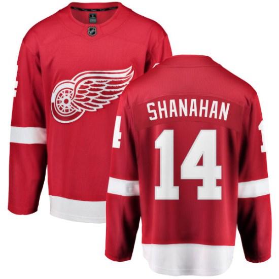 Brendan Shanahan Detroit Red Wings Breakaway Home Fanatics Branded Jersey - Red
