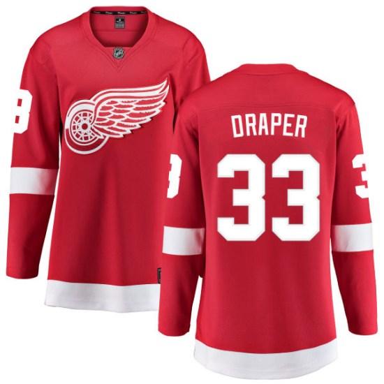 Kris Draper Detroit Red Wings Women's Breakaway Home Fanatics Branded Jersey - Red