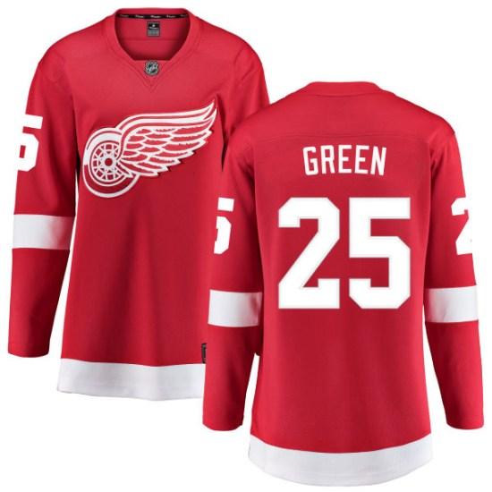 Mike Green Detroit Red Wings Women's Breakaway Red Home Fanatics Branded Jersey - Green