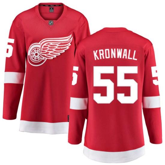 Niklas Kronwall Detroit Red Wings Women's Breakaway Home Fanatics Branded Jersey - Red