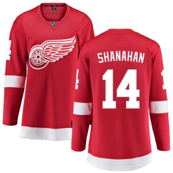 Brendan Shanahan Detroit Red Wings Women's Breakaway Home Fanatics Branded Jersey - Red