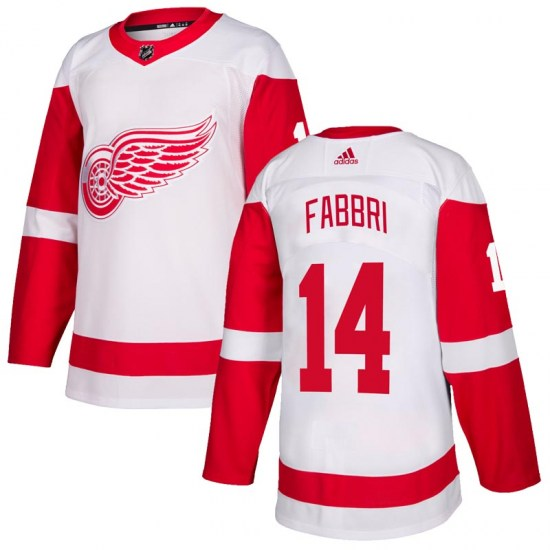 Robby Fabbri Detroit Red Wings Authentic Adidas Jersey - White