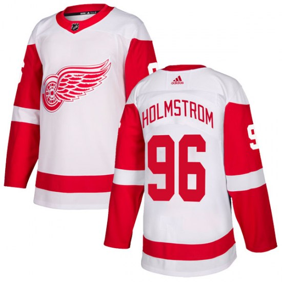 Tomas Holmstrom Detroit Red Wings Authentic Adidas Jersey - White