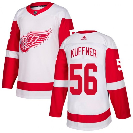 Ryan Kuffner Detroit Red Wings Authentic Adidas Jersey - White