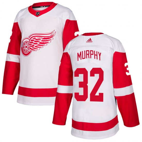 Ryan Murphy Detroit Red Wings Authentic Adidas Jersey - White