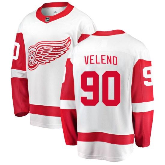 Joe Veleno Detroit Red Wings Youth Breakaway Away Fanatics Branded Jersey - White