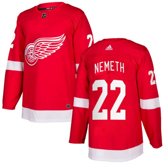 Patrik Nemeth Detroit Red Wings Authentic Home Adidas Jersey - Red