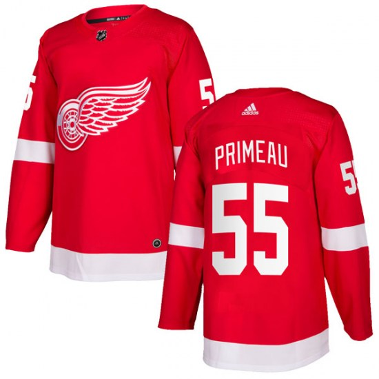 Keith Primeau Detroit Red Wings Authentic Home Adidas Jersey - Red