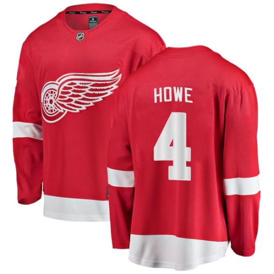 Mark Howe Detroit Red Wings Youth Breakaway Home Fanatics Branded Jersey - Red