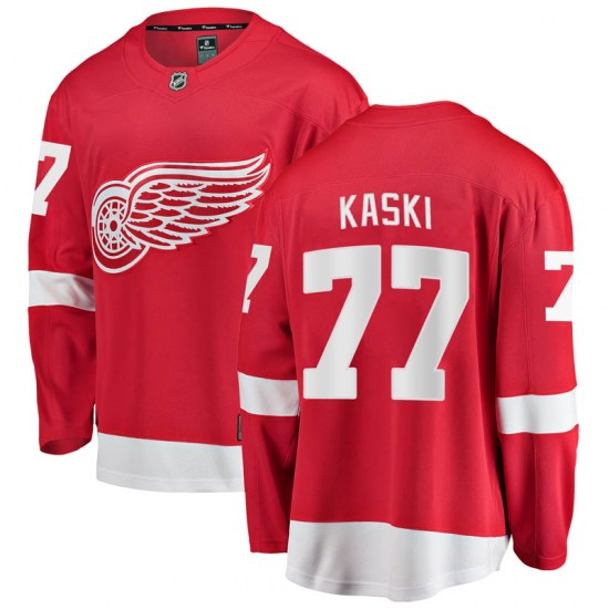 Oliwer Kaski Detroit Red Wings Youth Breakaway Home Fanatics Branded Jersey - Red