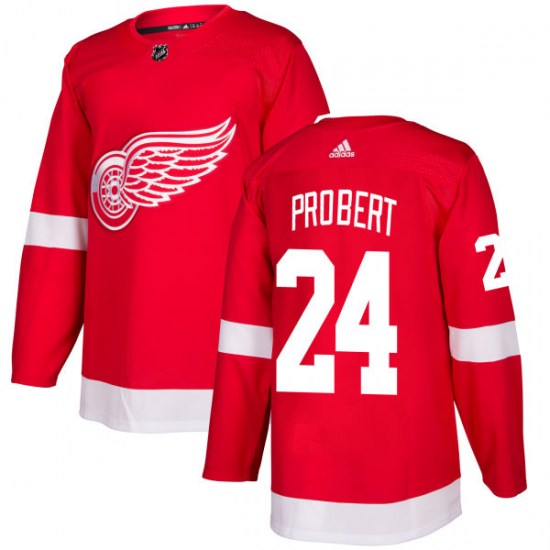 Bob Probert Detroit Red Wings Authentic Adidas Jersey - Red