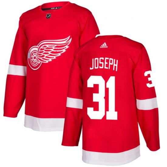 Curtis Joseph Detroit Red Wings Authentic Adidas Jersey - Red