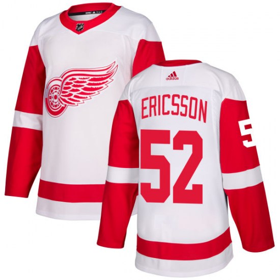 Jonathan Ericsson Detroit Red Wings Authentic Adidas Jersey - White