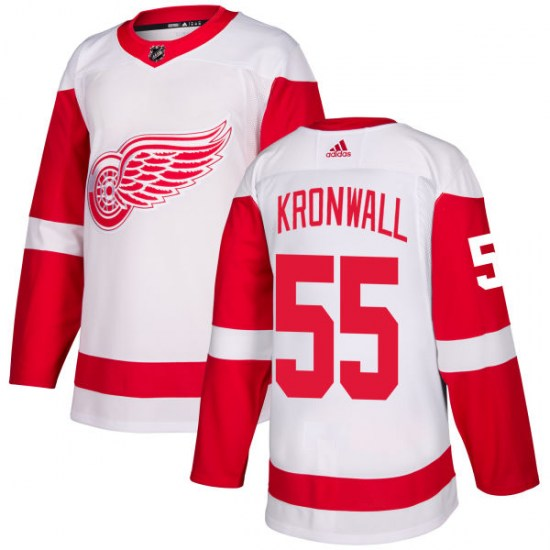 Niklas Kronwall Detroit Red Wings Authentic Adidas Jersey - White