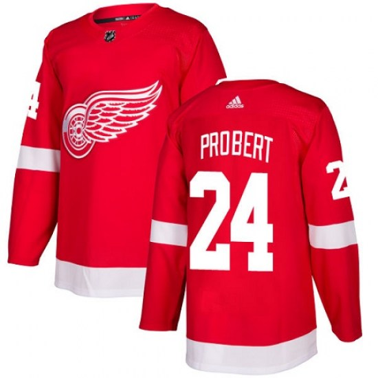 Bob Probert Detroit Red Wings Youth Authentic Home Adidas Jersey - Red